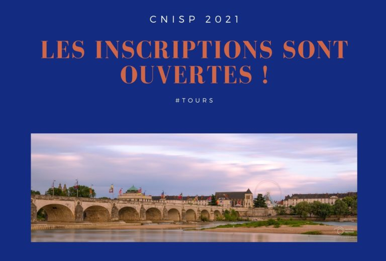 lancement de l'inscription au CNISP 2021
