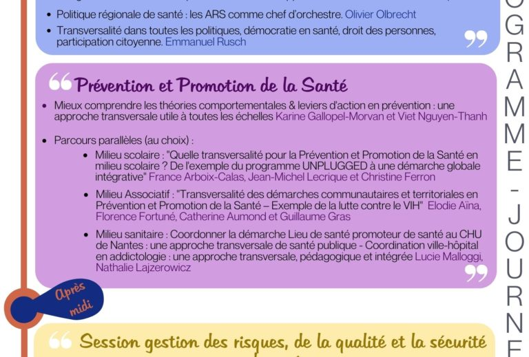 Programme CNISP 2021