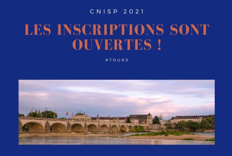 lancement de l'inscription au CNISP 2021